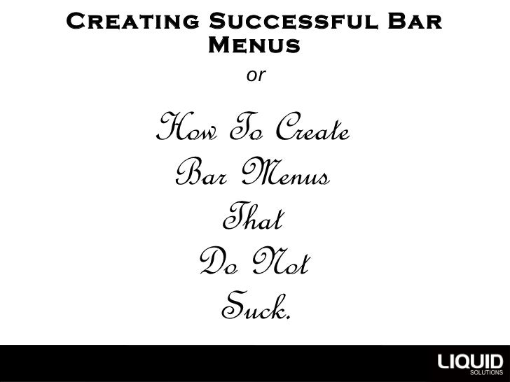 Bar Menus Copenhagen Spirits & Cocktailsv2 Slide 3