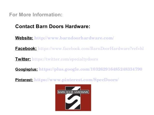 Custom Barn Door Hardware Will Make You Wish You Were Born