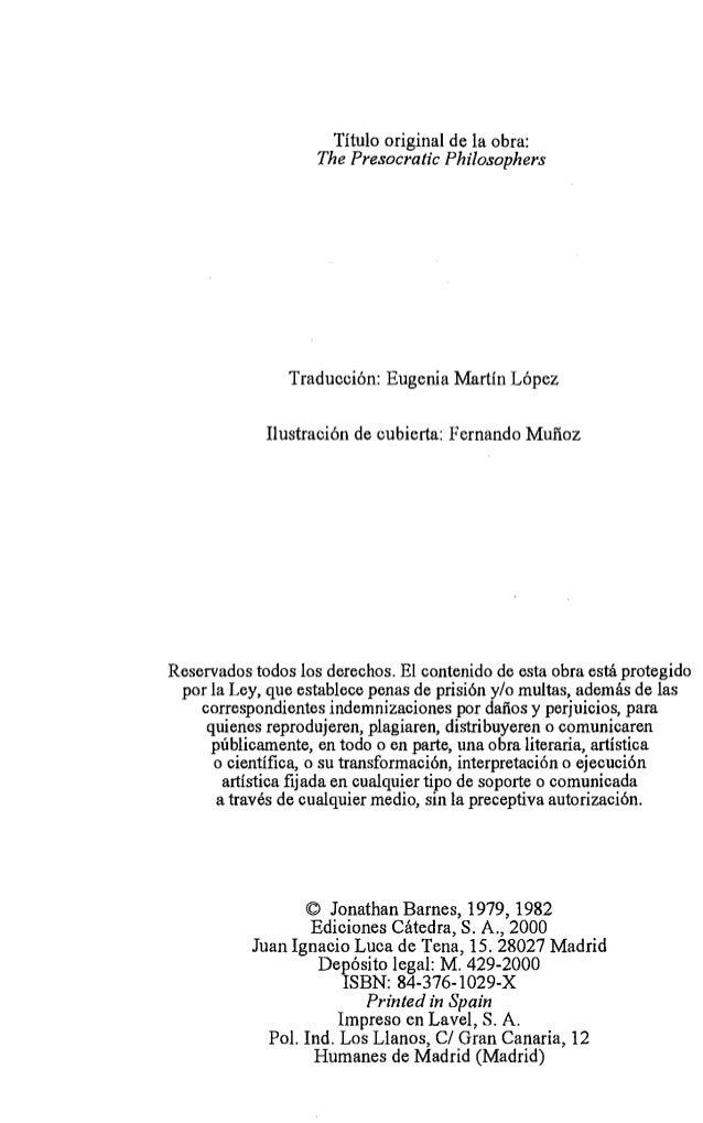 TEMA 0. LOS PRESOCRATICOS