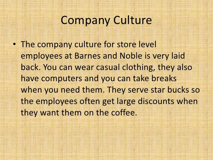 The Business Model of Barnes & Noble