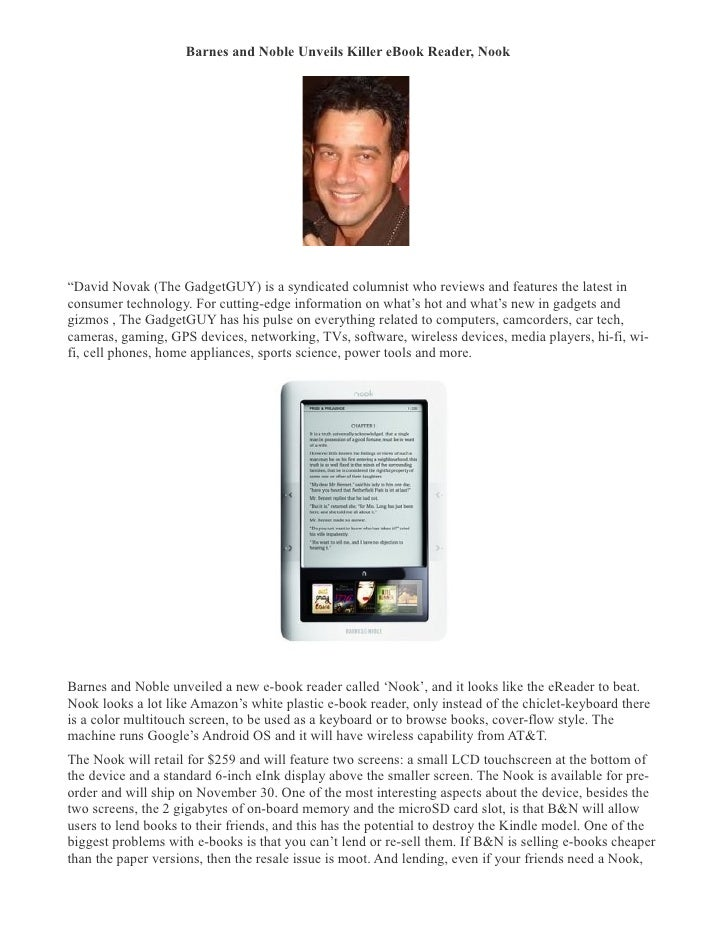 Apr 25, · Get the FREE NOOK Reading App for your Android smartphone or tablet to start enjoying Barnes & Noble's award-winning eBook discovery and digital reading experience. Access our vast online library of over 4 million eBooks, magazines, graphic novels, and comics; plus, enjoy recommendations just for you curated by our expert booksellers/5(K).