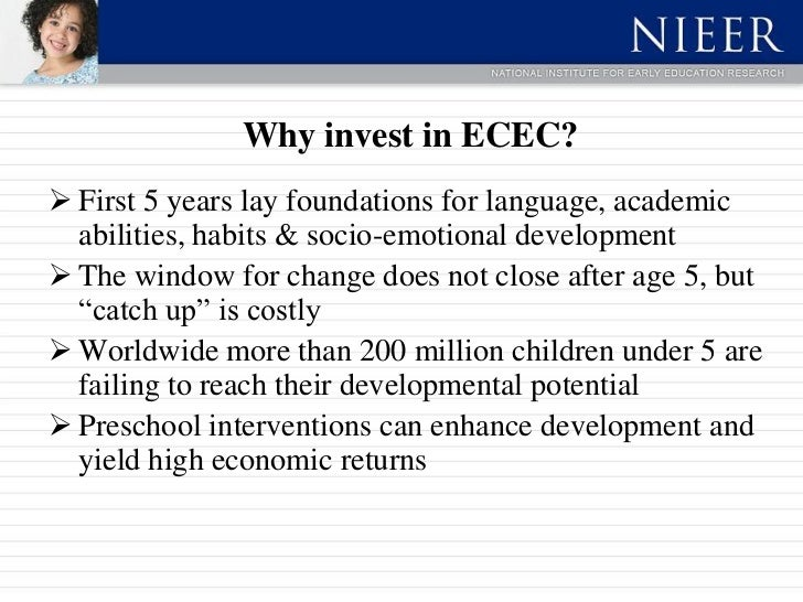Early Childhood Education And Care Ecec >> Returns To Public Investments In Ecec Oslo Norway Implementing Polic