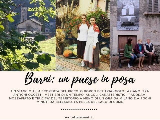 Barni  - Un paese da scoprire 2018
