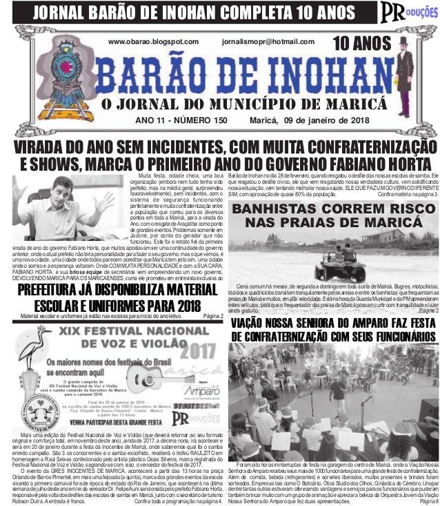 BARÃO DE INOHAN 150 - 09 DE JANEIRO DE 2018 5896f3023dbb7