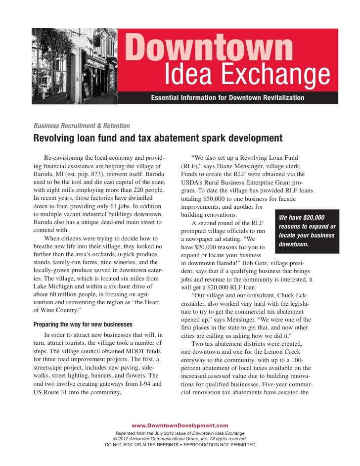 Downtown                                                        Idea Exchange                                             ...