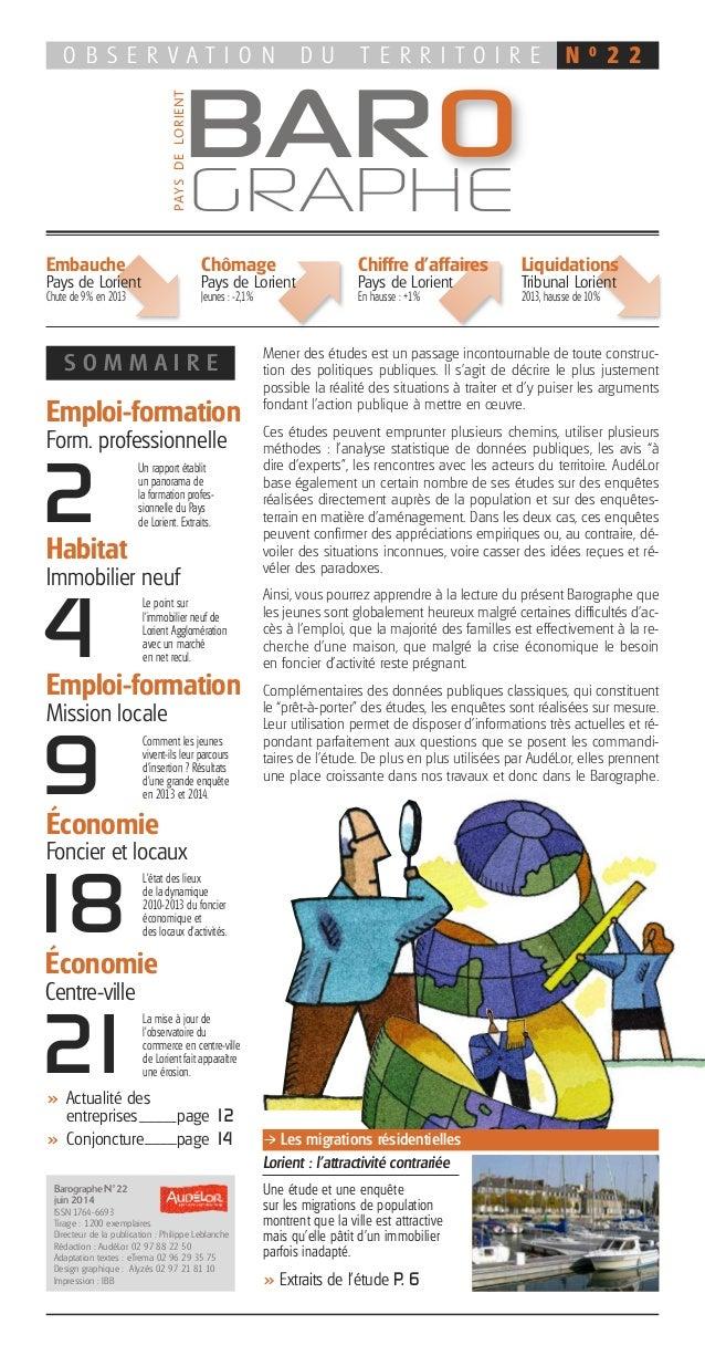 Emploi-formation Form. professionnelle S O M M A I R E >> Actualité des entreprises page 12 >> Conjoncture page 14 Emploi-...
