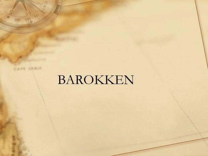BAROKKEN