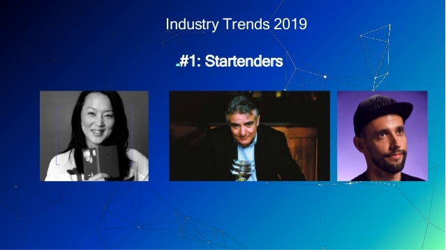 Industry Trends And Their Roots - Philip Duff - Barometer Bar Show 2019 Slide 3