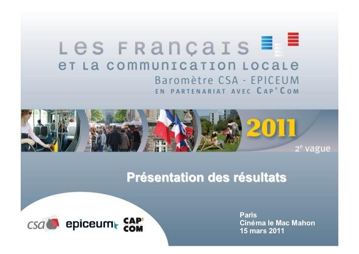 ParisCinéma le Mac Mahon15 mars 2011