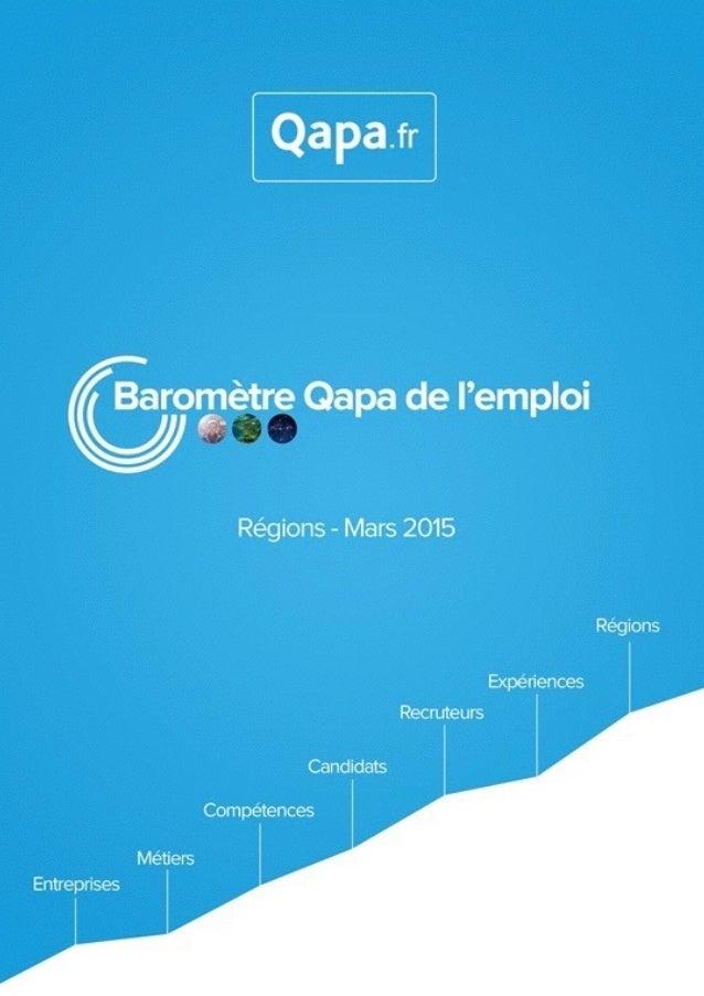 Mars 2015 - Baromètre de l'emploi en région Basse-Normandie par Qapa - Tous droits réservés.