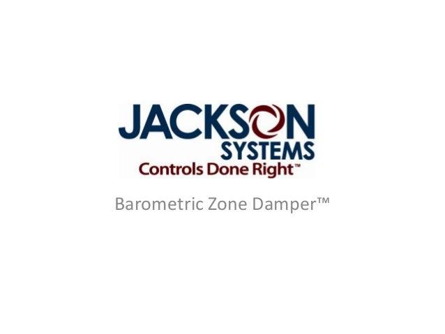 Barometric Zone Damper™