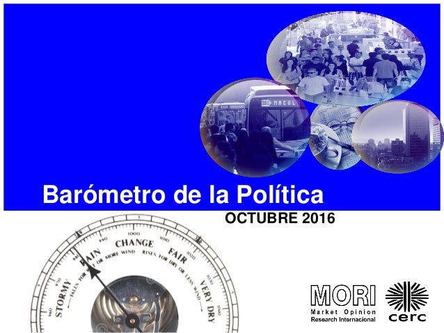 Barómetro de la Política OCTUBRE 2016