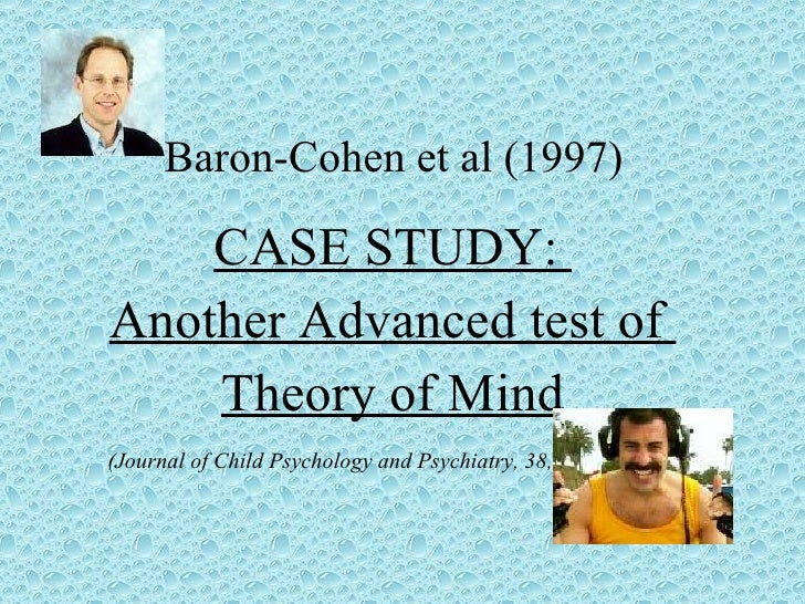 Prof Simon Baron-Cohen - 1 - Importance of Early ...