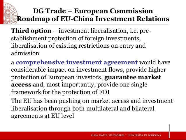 The EU's International Investment Policy And The