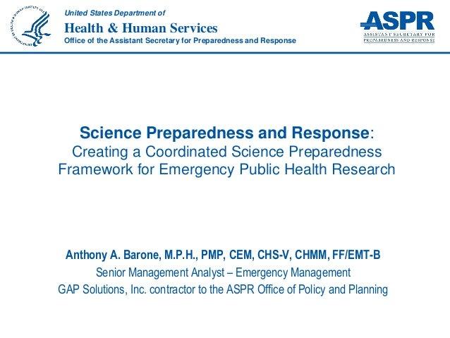 Public Health Emergency Exercise Toolkit - CIDRAP