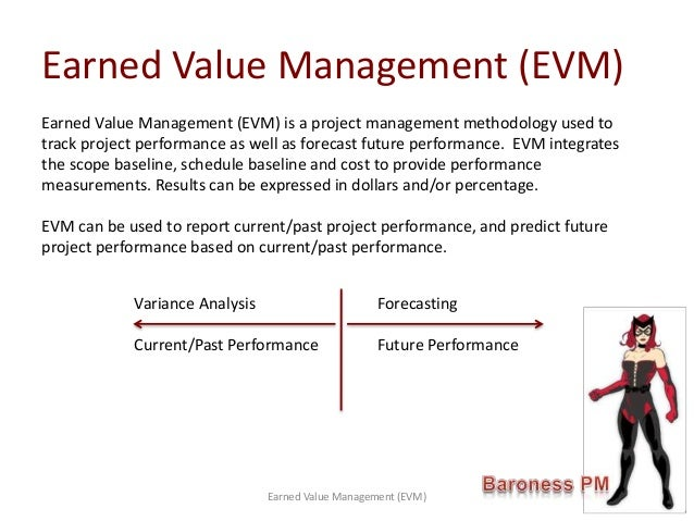 Track Project Performance - Earned Value Management