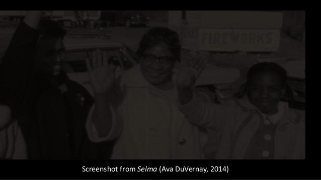 Screenshot from Selma (Ava DuVernay, 2014)