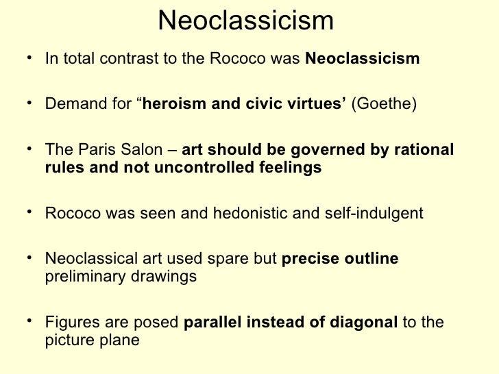 Baroque Neoclassical Art