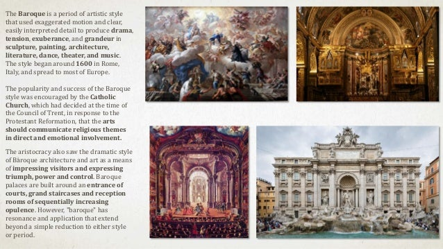 an introduction to baroque art Baroque art and architecture, the visual arts and building design and construction produced during the era in the history of western art that roughly coincides with the 17th century the earliest manifestations, which occurred in italy, date from the latter decades of the 16th century, while in some regions, notably germany and.