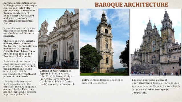 Introduction to baroque and rococo architecture for French baroque characteristics