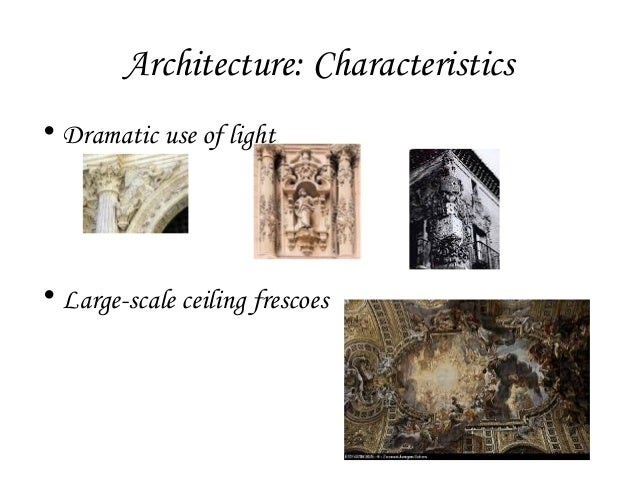 History lecture 3 baroque architecture for Baroque art style characteristics