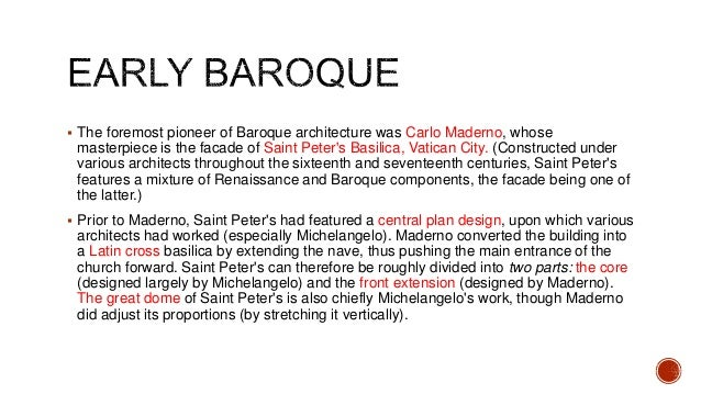 history of baroque architecture