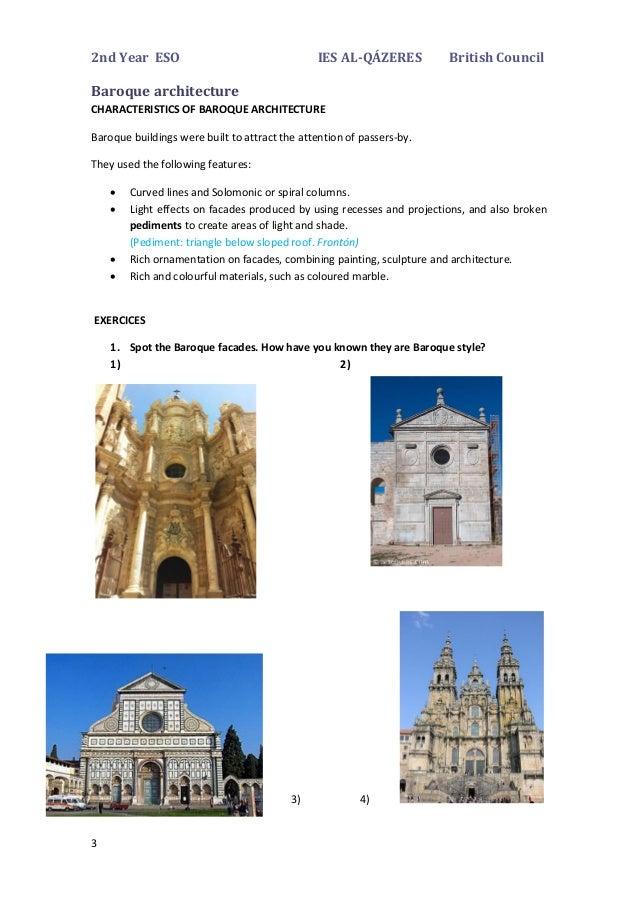 Baroque art autoguardado for Baroque architecture characteristics list
