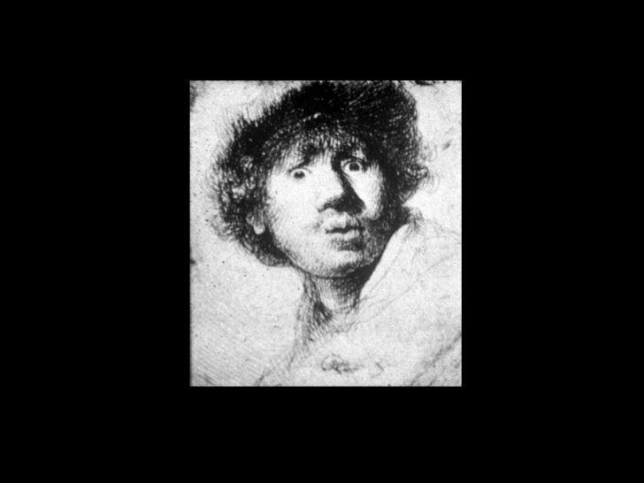 Rembrandt, Self-portait, 1630<br />