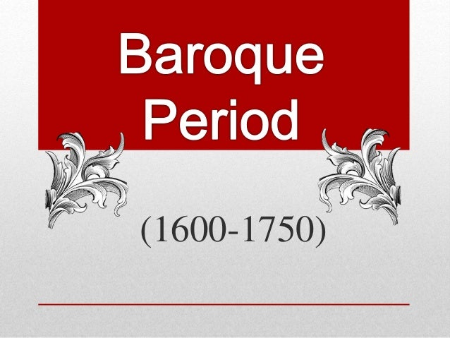 Baroque period pt1 for What are the characteristics of baroque period