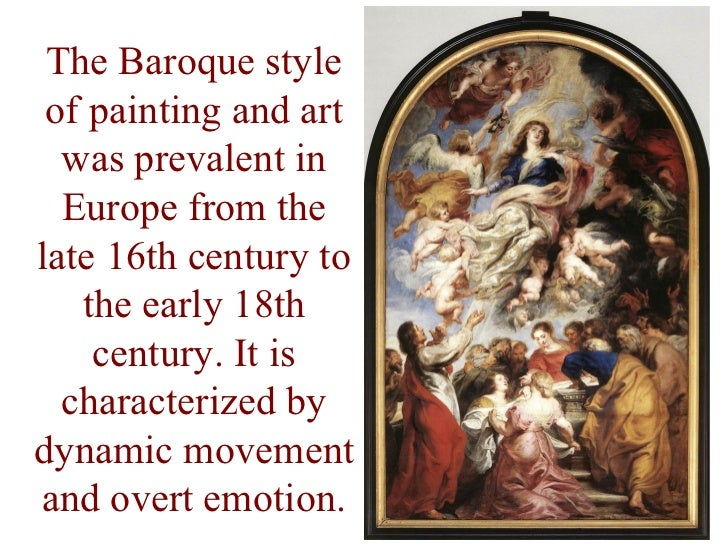 the baroque period Orchestra of the baroque period evolve from the enormous instrumentarium of the  renaissance the most characteristic aspect of renaissance instruments was.