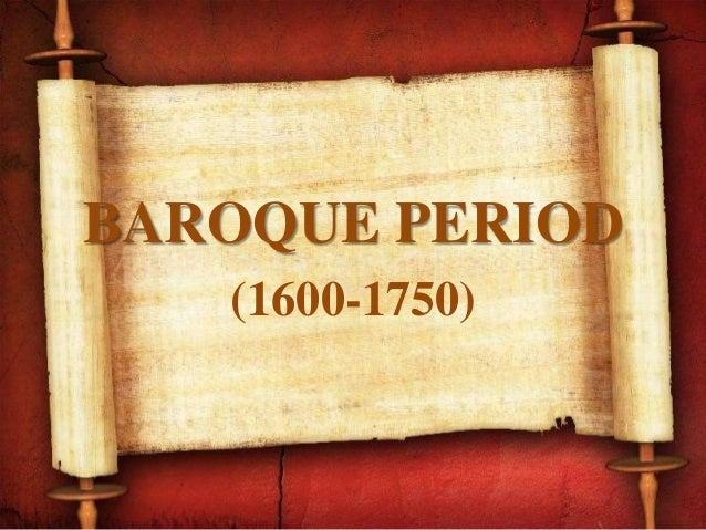 an essay on the baroque era 1600 to 1750 Handel was also a very important composer during the baroque period he was born in germany, but lived most of his life in england the baroque era 1600-1750.
