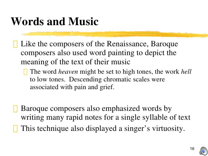 Baroque period part 1 for Origin of the word baroque