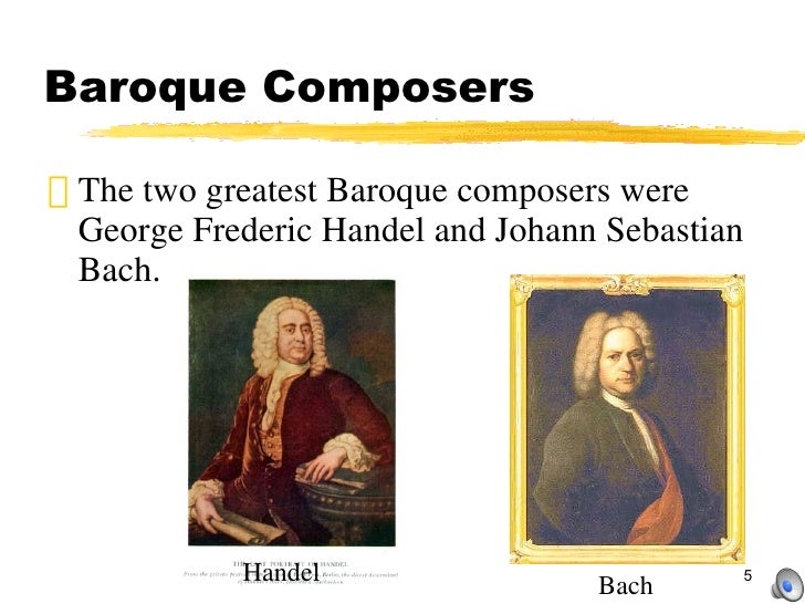 the baroque period 2 Two composers predominated in the first half of the baroque period their music embodies many of the elements of the transition from renaissance to baroque style these two composers were claudio monteverdi (1567-1643) and heinrich schutz (1585-1672.