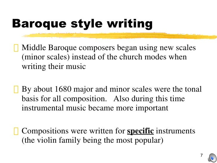 Baroque period part 1 for During the baroque period