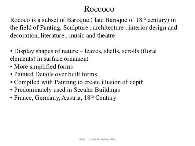 Baroque Rococo Architecture