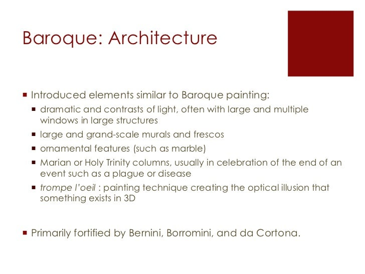 introduction to baroque