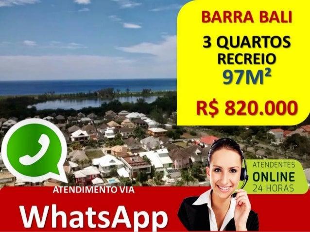 BARRA BALI – RECREIO – RJ • COND. BARRA BALI RECREIO • 97M² • ALFREDO BALTHAZAR DA SILVEIRA • 3 QUARTOS • ANDAR ALTO •R$ 8...