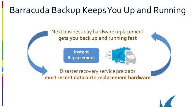 Barracuda Backup Presentation