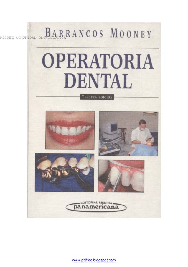 libro de operatoria dental de barrancos gratis