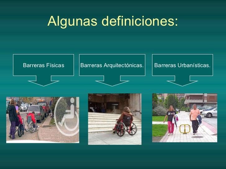 Barreras arquitectonicas for Barreras arquitectonicas