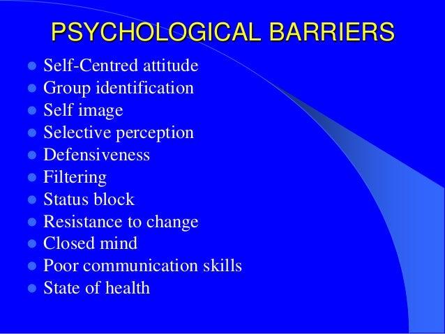 Define self centeredness