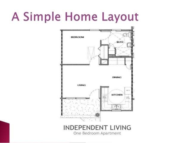 Barrier free house design