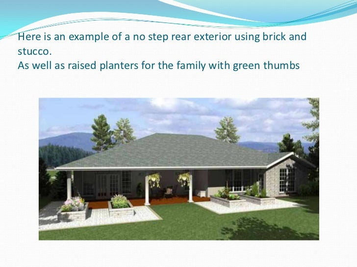 Barrier Free Home Design