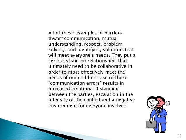 examples of barriers to effective communication