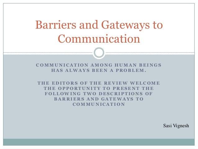 gateways to effective interpersonal communication