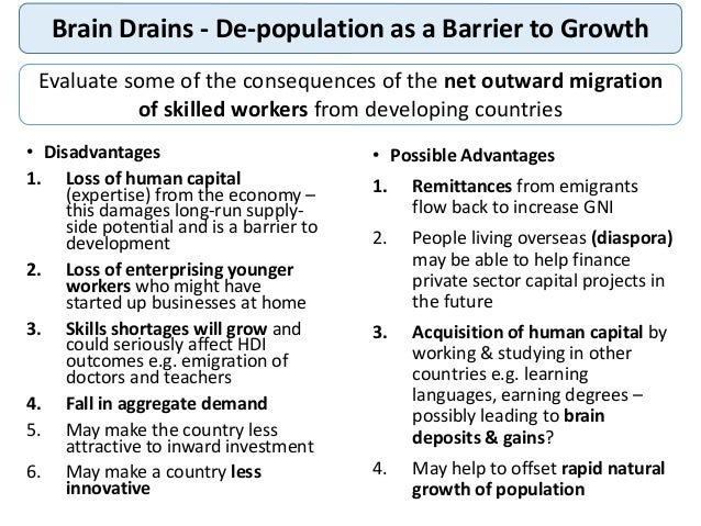 population growth disadvantages to the economy Best answer: it requires more labor to expand an economy zero population growth would act as a constraint on growth by raising the unit costs of labor.