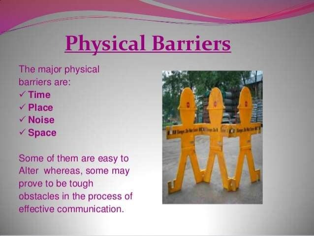 communication and its barriers Communication (from latin communicare, meaning to share) is the activity of conveying information through the exchange of thoughts, messages, or information, as by.