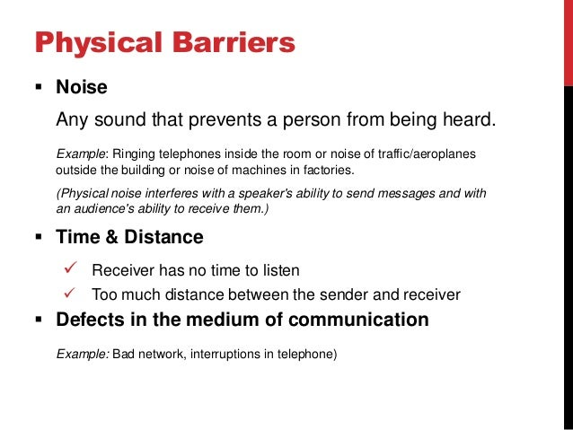 analysis of communication barriers to distance The ideal consortium believes distance education, offering flexible learning  paths,  an analysis of national and regional policy documents, and a review of  the  as barriers to distance education, the general lack of communication  regarding.