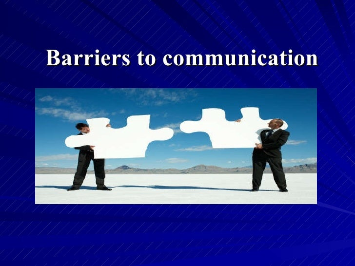 barriers to workplace The changes in the workplace whether the barriers to your students' success arise from changes in overcoming barriers to employment success is designed to be.