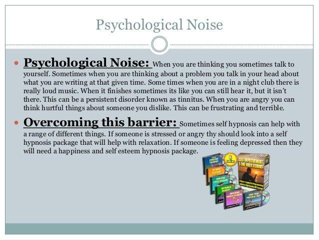psychological noise